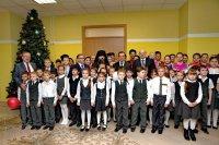 Виктор Бударин и Елена Кандинер приняли участие в открытии школы в Армавире